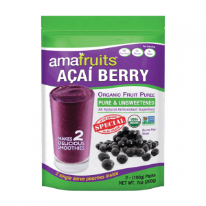 Acai Special Puree package