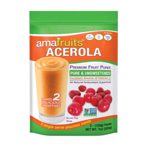 package of acerola puree