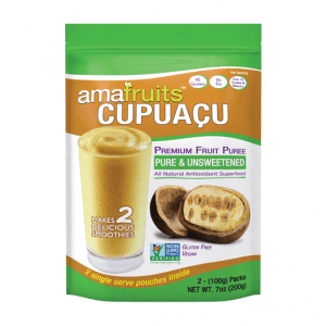 package of cupuacu puree