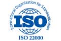 iso 22000 certified logo